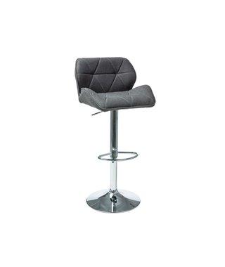 Барный стул Signal C-122 (темно-серый, ткань)