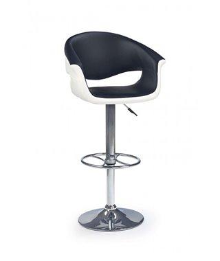 Барный стул Halmar H-46 (черный/белый)