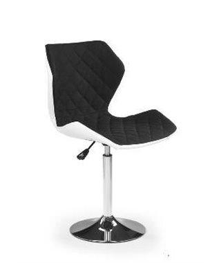 Барный стул Halmar MATRIX 2 (бело-черный)