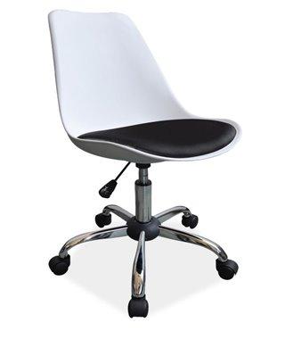 Кресло компьютерное Signal Q-777 (белый/черный)