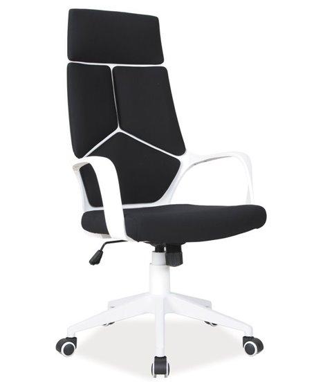 Кресло компьютерное Signal Q-199 (черный/белый)