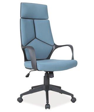 Кресло компьютерное Signal Q-199 (синий/черный)