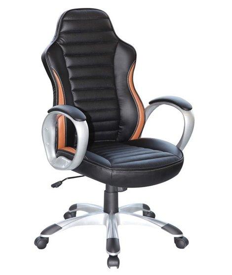 Кресло компьютерное Signal Q-112 (черный/коричневый)