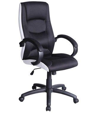Кресло компьютерное Signal Q-041 (черный/белый)