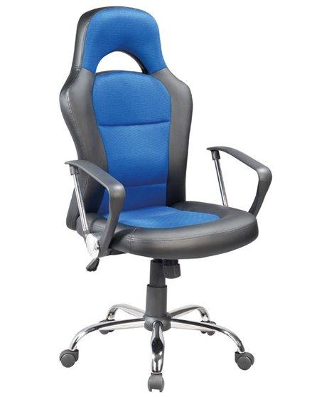 Кресло компьютерное Signal Q-033 (черный/синий)