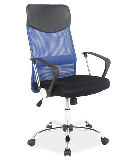 Кресло компьютерное Signal Q-025 (синий/черный)
