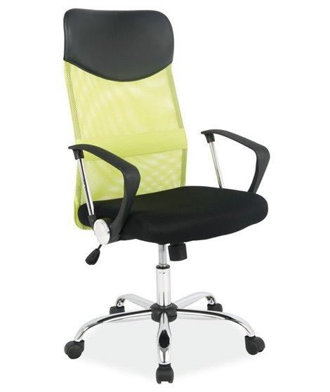Кресло компьютерное Signal Q-025 (зеленый/черный)