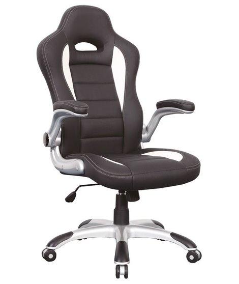 Кресло компьютерное Signal Q-024 (черный/белый)