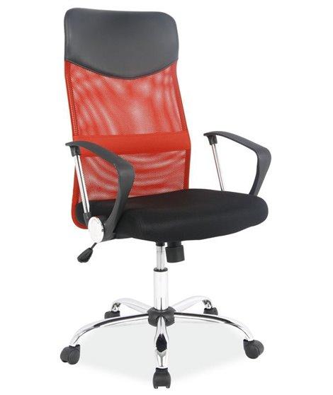 Кресло компьютерное Signal Q-025 (красный/черный)