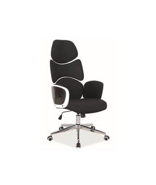 Кресло компьютерное Signal Q-888 (черный/белый)