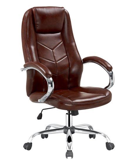 Кресло компьютерное Halmar CODY (коричневый)