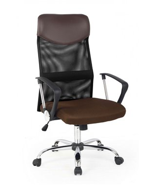 Кресло компьютерное Halmar VIRE (коричневый)