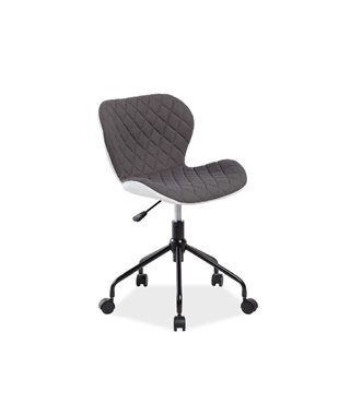 Кресло компьютерное Signal RINO (белый/серый)