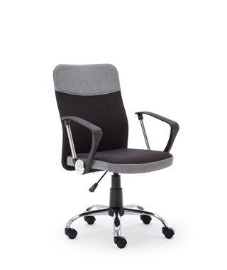 Кресло компьютерное Halmar TOPIC (черный/серый)