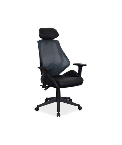 Кресло компьютерное Signal Q-406 (черный)
