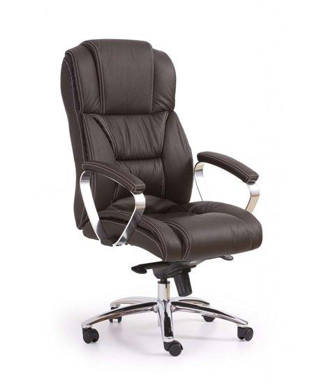 Кресло компьютерное Halmar FOSTER (темно-коричневый)
