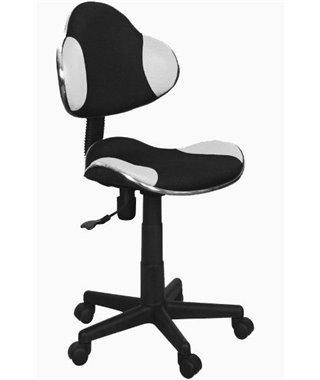 Кресло компьютерное Signal Q-G2 (черный/белый)