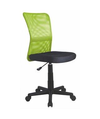 Кресло компьютерное Halmar DINGO (лайм/черный)