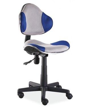 Кресло компьютерное Signal Q-G2 (синий/серый)