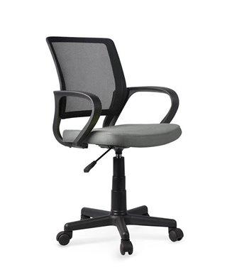 Кресло компьютерное Halmar JOEL (черно-серый)