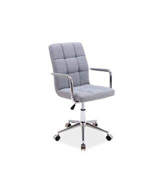 Кресло компьютерное Signal Q-022 (серый/ткань)