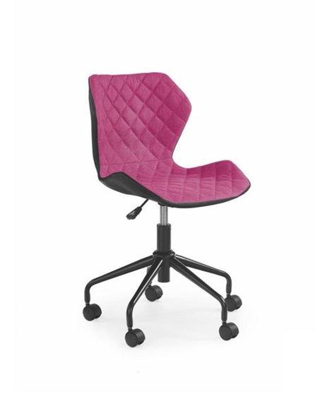 Кресло компьютерное Halmar MATRIX (розовый/черный)