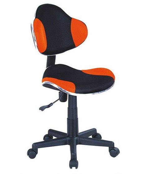 Кресло компьютерное Signal Q-G2 (оранжевый/черный)