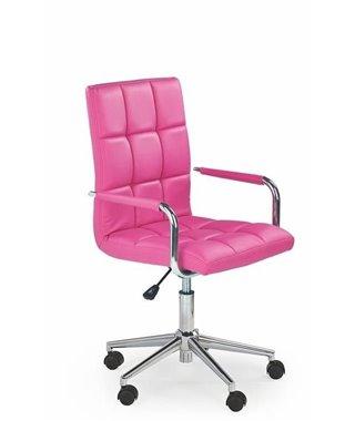 Кресло компьютерное Halmar GONZO 2 (розовый)
