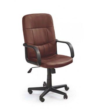 Кресло компьютерное Halmar DENZEL (темно-коричневый)
