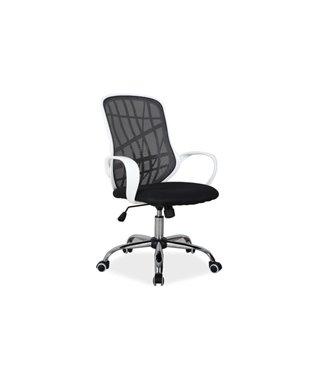 Кресло компьютерное Signal DEXTER (черный/белый)