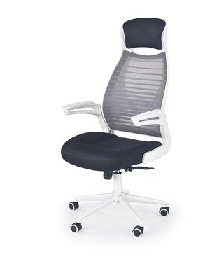 Кресло компьютерное Halmar FRANKLIN (черный/белый/серый)