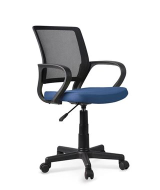 Кресло компьютерное Halmar JOEL (черно-синий)