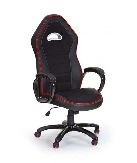 Кресло компьютерное Halmar ENZO (черный/красный)