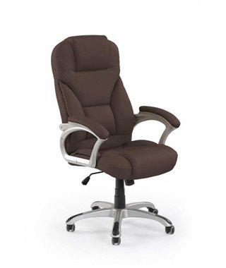 Кресло компьютерное Halmar DESMOND (темно-коричневый)