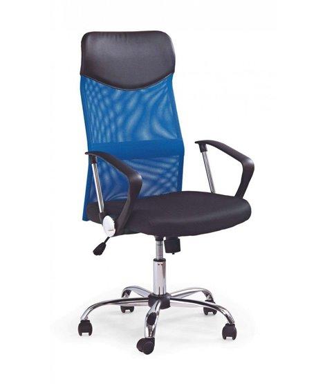 Кресло компьютерное Halmar VIRE (черный/синий)
