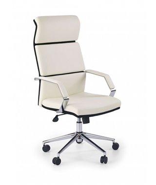 Кресло компьютерное Halmar COSTA (белый/черный)