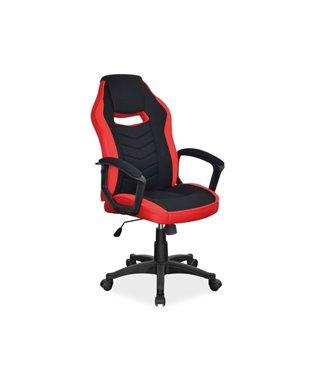 Кресло компьютерное Signal CAMARO (черный/красный)