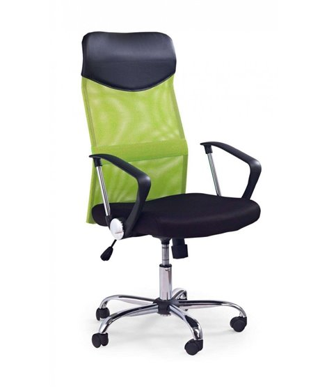 Кресло компьютерное Halmar VIRE (черный/зеленый)