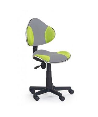 Кресло компьютерное Halmar FLASH 2 (серый/зеленый)