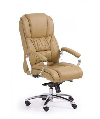 Кресло компьютерное Halmar FOSTER (светло-коричневый)