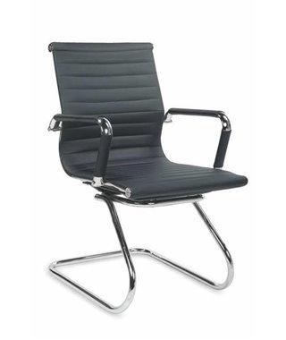 Кресло компьютерное Halmar PRESTIGE SKID (черный)