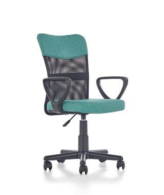 Кресло компьютерное Halmar TIMMY (бирюзовый/черный)