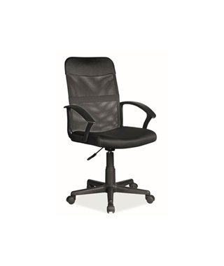 Кресло компьютерное SIGNAL Q-702 (черный/черный)