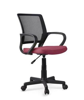 Кресло компьютерное Halmar JOEL (черный/темно-розовый)