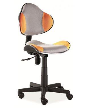 Кресло компьютерное Signal Q-G2 (оранжевый/серый)