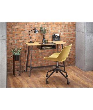 Стол компьютерный Halmar B41 (дуб золотой/черный)