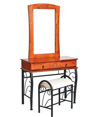 Стол туалетный со стульчиком Signal 1102 (черешня античная)