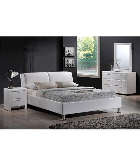 Кровать Signal MITO (белый) 140/200