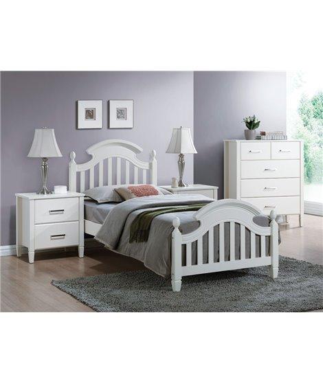 Кровать Signal LIZBONA (белый) 90/200