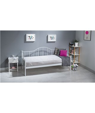 Кровать Signal DOVER (белый) 90/200